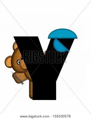 Alphabet Teddy Dental Checkup Y