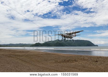 Flying To The Beach
