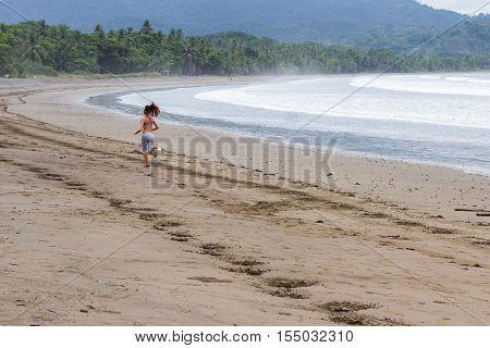Early Morning Beach Run
