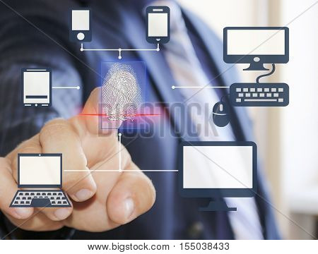 Fingerprint scanning for secure access to your phone, tablet, smart house, computer, laptop, TV and other latest devices and accessories.The latest technology for your safety.
