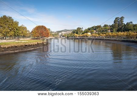 Views of the Ria of Pontevedra, in Galicia, Spain