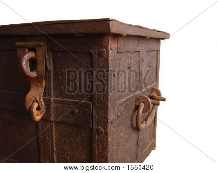 Old And Rusted Chest