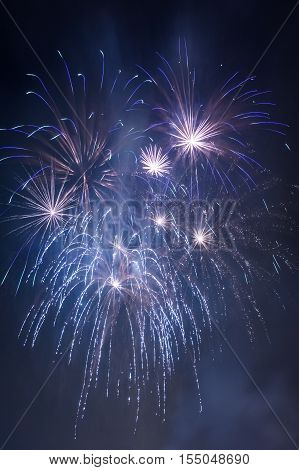 Few Small Fireworks During The Celebrations At Night