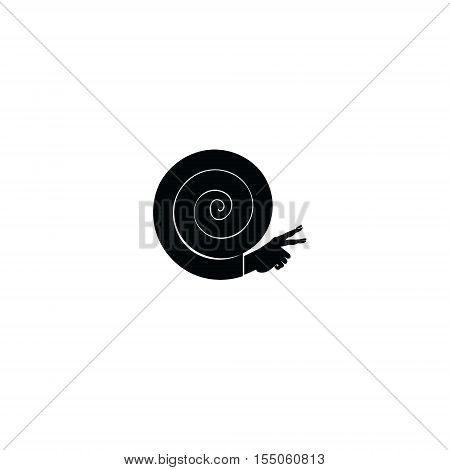 Snail icon, graphic, symbol, logo, Vector. black universal web icons isolated on white background
