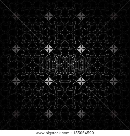 Abstract vector background in black and white. Easy to change colors.