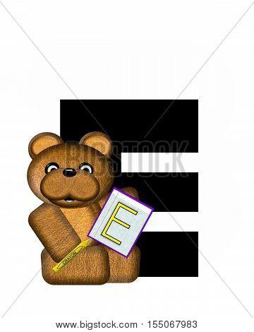 Alphabet Teddy Homework E