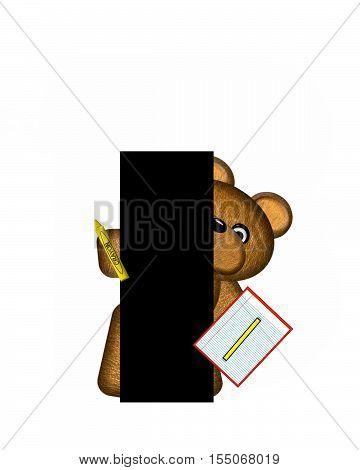Alphabet Teddy Homework I