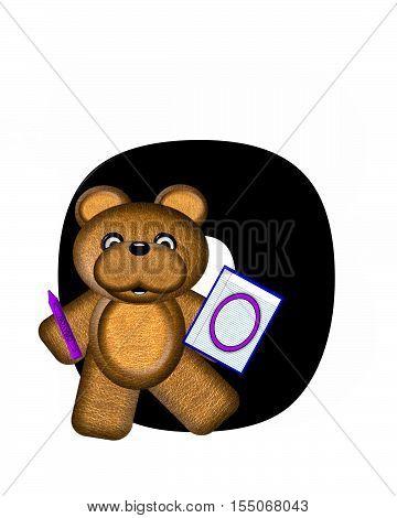 Alphabet Teddy Homework O