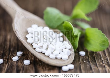 Stevia Sweetener Pills