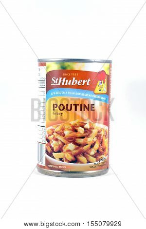 Can Of St. Hubert Poutine Gravy Sauce
