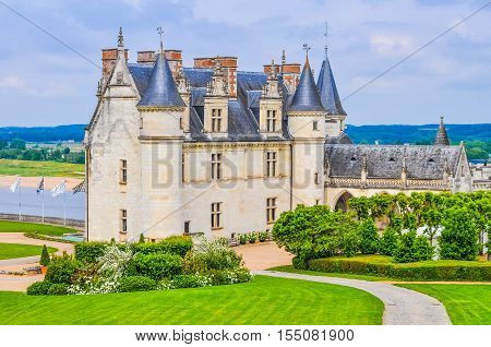 Hdr Chateau Amboise Castle