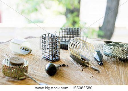 Feeder fishing. Fishing on the feeder. Fishing