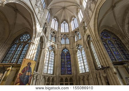 Saint-sulpice-de-favieres Church, Essonne, France