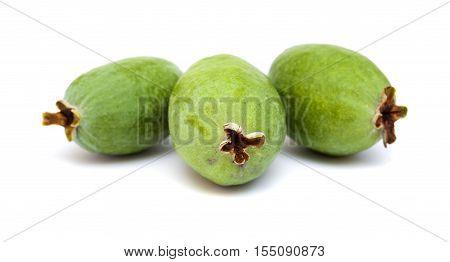 Green Feijoa Fruit