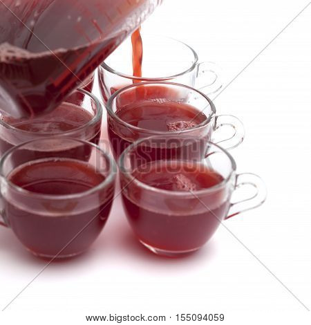 Making Individual Strawberry Jelly Portions
