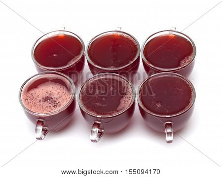 Individual Strawberry Jelly Portions