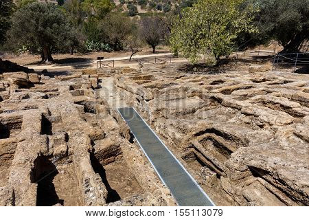 Early-christian Necropolis In The Valley Of Temples