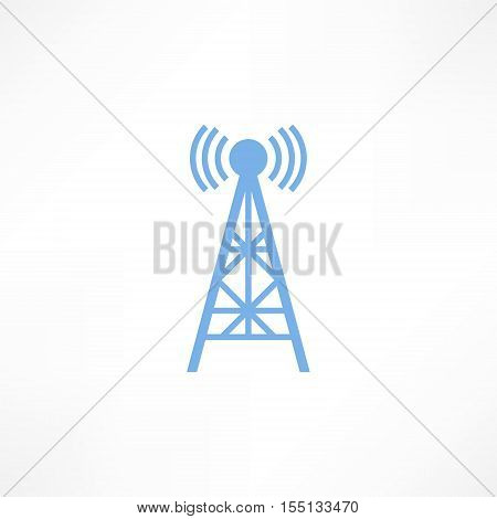 Wave Tower Radio Antenna
