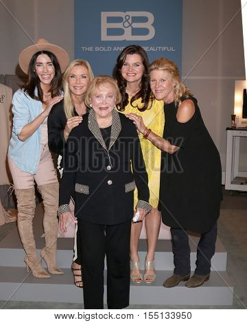 LOS ANGELES - NOV 3:  Jacqueline MacInnes Wood, Katherine Kelly Lang, Lee Bell, Heather Tom, Alley Mills at the BnB Celebrates CBS #1 for 30 Years at Paley on November 3, 2016 in Beverly Hills, CA