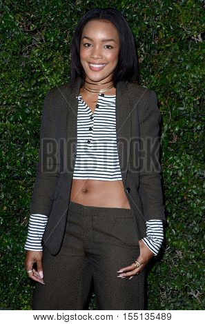 LOS ANGELES - NOV 2:  Brittany Hampton at the Who What Wear 10th Anniversary #WWW10 Experience at Private Location on November 2, 2016 in Los Angeles, CA