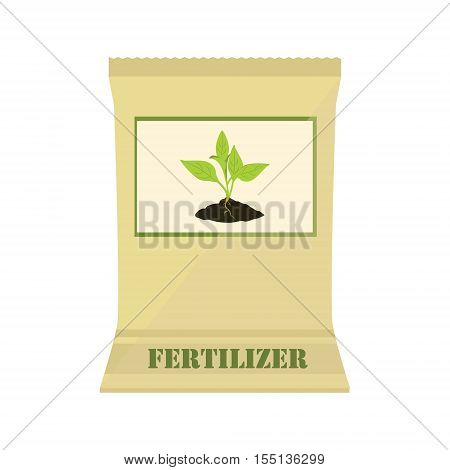 Paper Bag With Fertilizer
