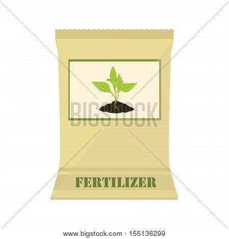 Paper Bag With Fertilizer