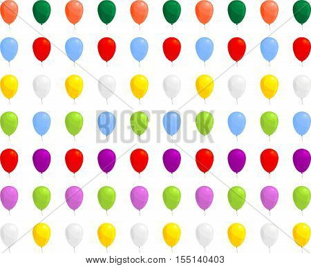 inflatable balloons in several colors for your use