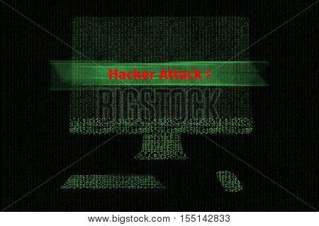 Computer Is Hacker Attack