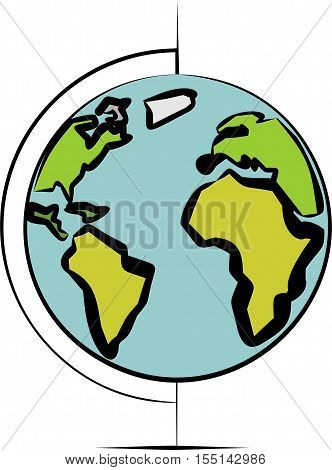 Color globe a little different for your use