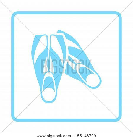 Icon Of Swimming Flippers