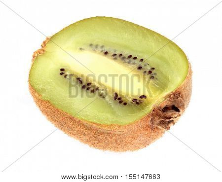 image of one raw kiwi at day