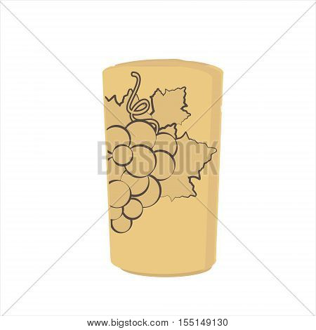 Wine Cork Vector
