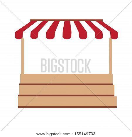 Market Stall Vector