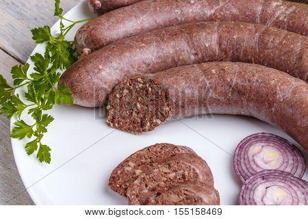 Blood Pudding Sausage
