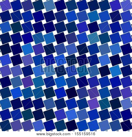 Blue abstract angular square pattern design background