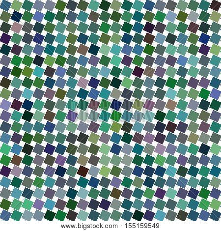 Colorful abstract angular square pattern design background