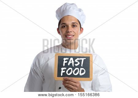 Fast Food Unhealthy Eating Eat Cook Cooking Board Isolated
