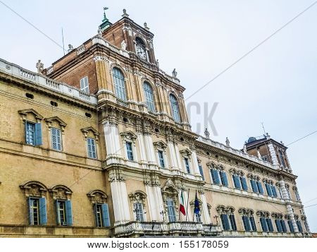 Hdr Modena Ducal Palace