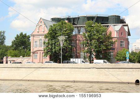 Residence of the Ambassador of Australia (Prechistenskaya embankment, 3 Building 1)