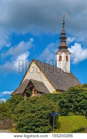 Winterkirche church in Maria Worth Carinthia Austria