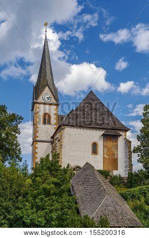Saints Primus and Felician Church in Maria Worth Carinthia Austria