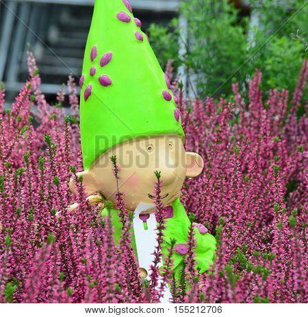 view of dwarf garden decorations Lower Austria Austria