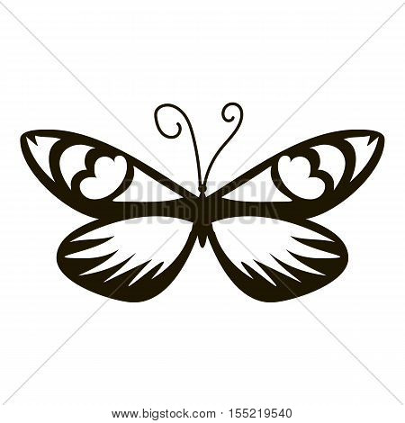 Air butterfly icon. Simple illustration of air butterfly vector icon for web