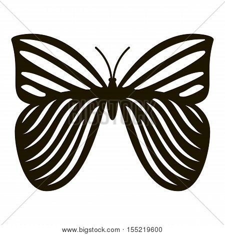 Megaloptera butterfly icon. Simple illustration of megaloptera butterfly vector icon for web