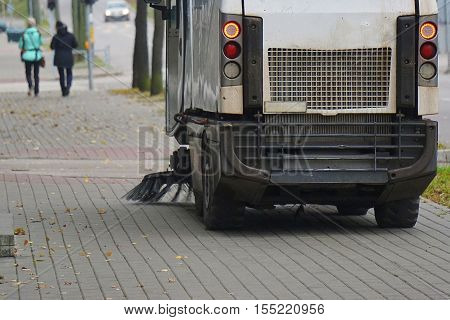 Street Sweeper Machine