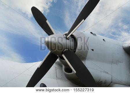 Airplane Turboprop Engine