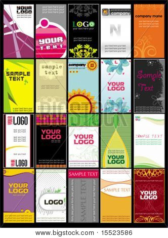 Collection vertical business cards templates 8. To see similar, please VISIT MY GALLERY.