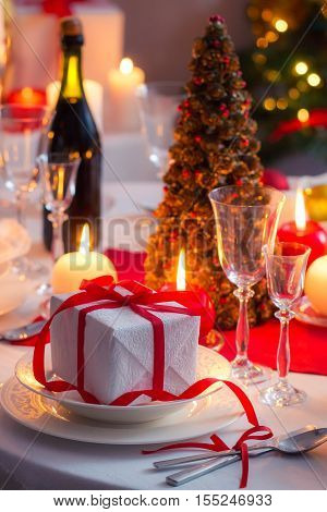 Enjoy your Christmas dinner, gifts and candlelight