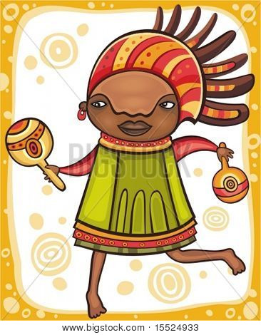 Ethnic girl 3.  To see similar, please VISIT MY PORTFOLIO