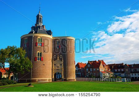 Historic Gate In Enkhuizen, Netherlands